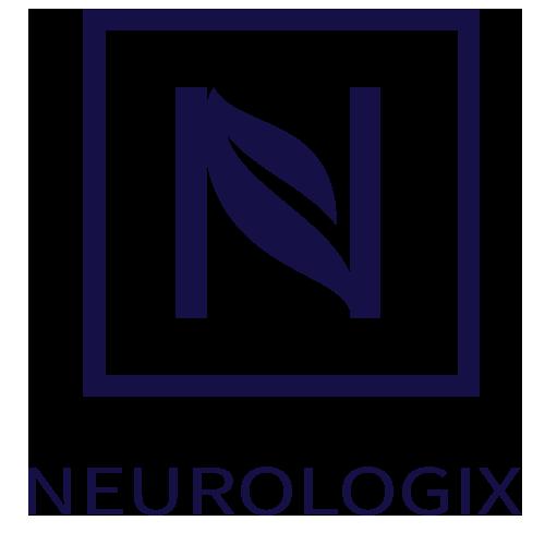 Neurologix logo showing icon above brand name